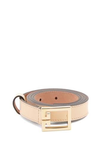 Matchesfashion.com Givenchy - Gv3 Leather Belt - Womens - Brown
