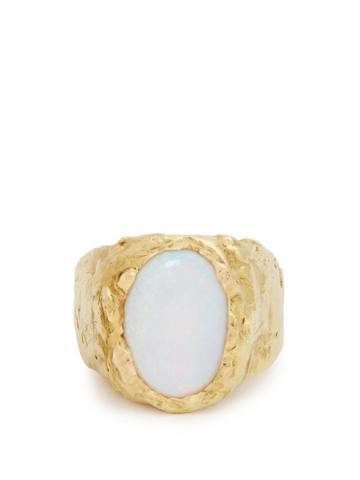 Orit Elhanati Signetura Opal & Yellow-gold Ring