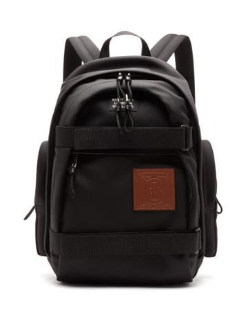 Matchesfashion.com Burberry - Cooper Tb-patch Backpack - Mens - Black