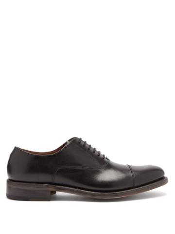 Matchesfashion.com O'keeffe - Bristol Leather Oxford Shoes - Mens - Black