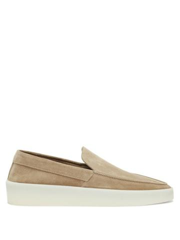 Matchesfashion.com Fear Of God - Exaggerated-sole Leather Loafers - Mens - Brown