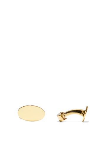 Matchesfashion.com Deakin & Francis - 18kt Gold Cufflinks - Mens - Gold