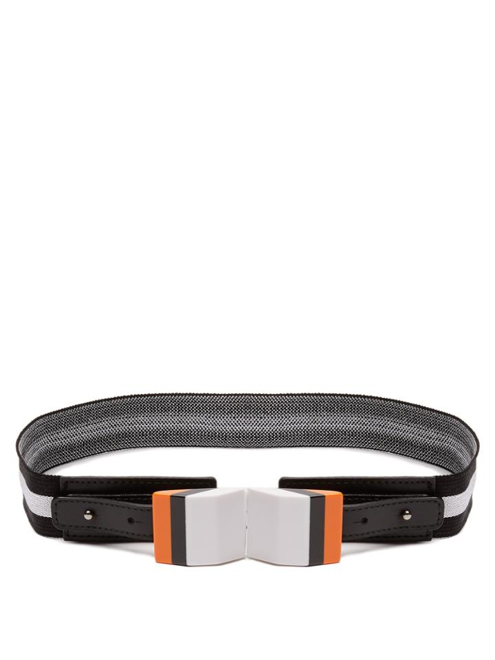 Missoni Striped Elasticated-knit Belt