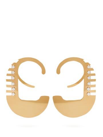 Colville Crystal-embellished Earrings