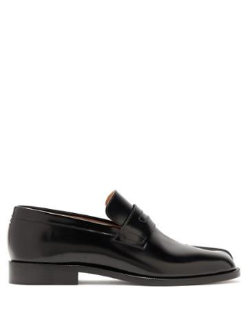 Matchesfashion.com Maison Margiela - Tabi Split-toe Leather Loafers - Mens - Black
