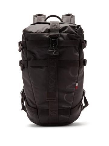 Matchesfashion.com Moncler - Argens Logo-print Technical Backpack - Mens - Black