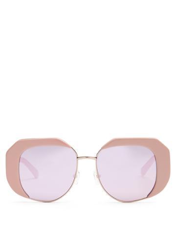 Karen Walker Eyewear Domingo Butterfly-frame Sunglasses