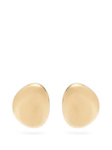 Matchesfashion.com Marni - Dome-drop Earrings - Womens - Gold