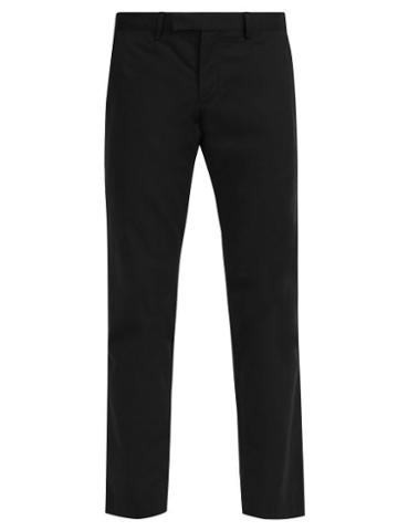 Matchesfashion.com Polo Ralph Lauren - Slim Fit Chino Trousers - Mens - Black