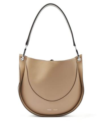 Matchesfashion.com Proenza Schouler - Hobo Small Leather Shoulder Bag - Womens - Grey