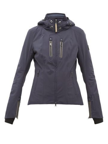 Matchesfashion.com Bogner - Tami T Quilted Insert Ski Jacket - Womens - Navy