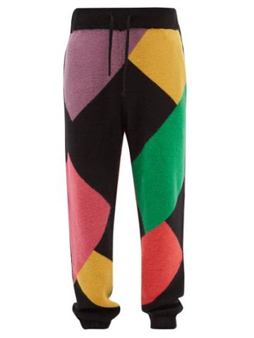Palm Angels - X Missoni Printed Fleece Track Pants - Mens - Multi