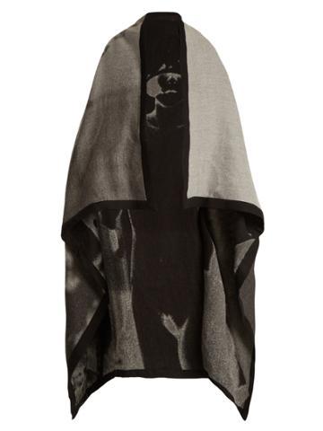 Mary Mccartney Dress Up-print Oversized Scarf