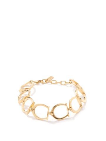 Saint Laurent - Horseshoe-link Bracelet - Womens - Gold