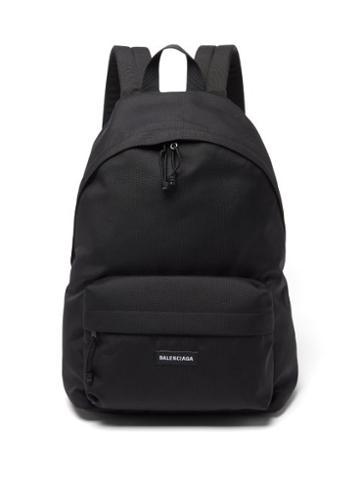 Balenciaga - Explorer Nylon Backpack - Mens - Black