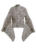 Matchesfashion.com Petar Petrov - Belva Leopard Print Silk Blouse - Womens - Leopard