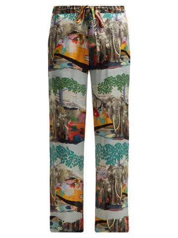Chufy Savannah Silk Trousers