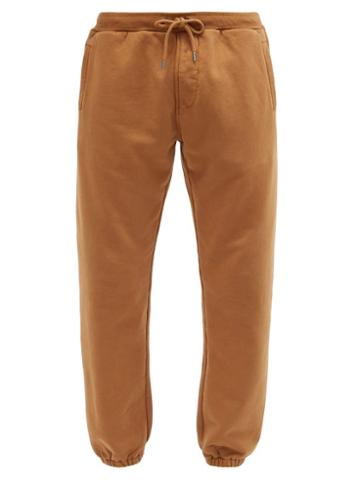 Matchesfashion.com Frame - Camp Cotton-loopback Jersey Track Pants - Mens - Brown