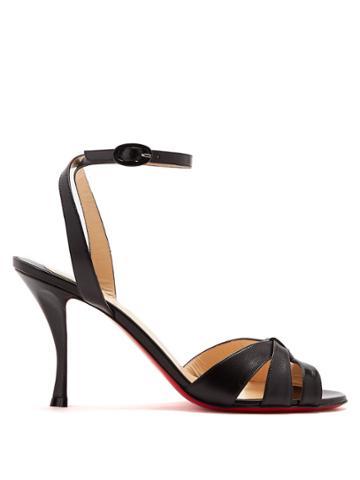 Christian Louboutin Trezum 85mm Leather Sandals