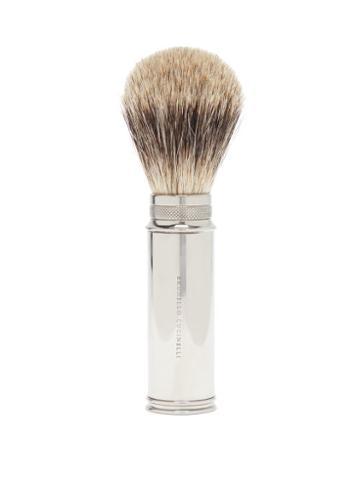 Matchesfashion.com Brunello Cucinelli - Travel Shaving Brush - Mens - Silver