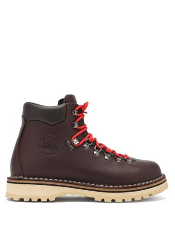 Matchesfashion.com Diemme - Roccia Vet Leather Hiking Boots - Womens - Dark Brown
