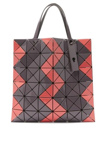 Matchesfashion.com Bao Bao Issey Miyake - Lucent Pvc Tote Bag - Womens - Brown Multi