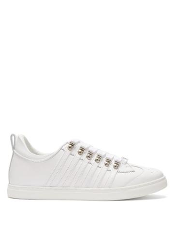 Matchesfashion.com Dsquared2 - 251 Leather Trainers - Mens - White