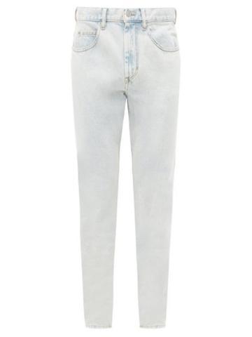Matchesfashion.com Isabel Marant - Jack Straight-leg Jeans - Mens - Light Blue