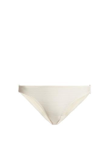 Matchesfashion.com Heidi Klein - Cte D'azur Bikini Briefs - Womens - Cream