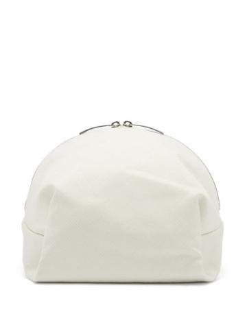 Matchesfashion.com Bottega Veneta - Jacquard Cosmetics Case - Womens - White
