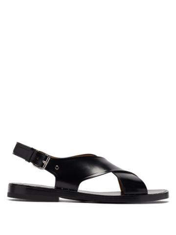 Matchesfashion.com Church's - Dainton Studded Crossover Leather Sandals - Mens - Black
