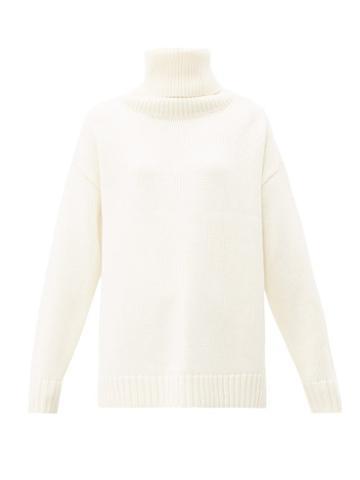Matchesfashion.com Joseph - Sloppy Joe Oversized Wool Sweater - Womens - Cream