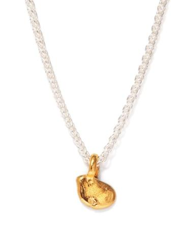 Alighieri - The Unwinding Answer 24kt Gold-plated Necklace - Womens - Silver Gold