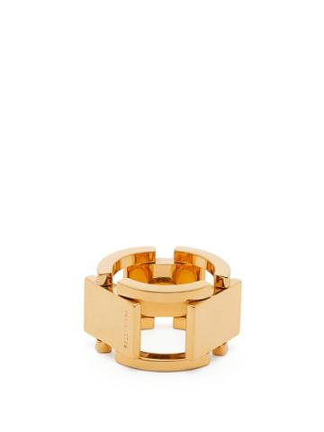 Matchesfashion.com Balenciaga - Link Chain Ring - Womens - Gold