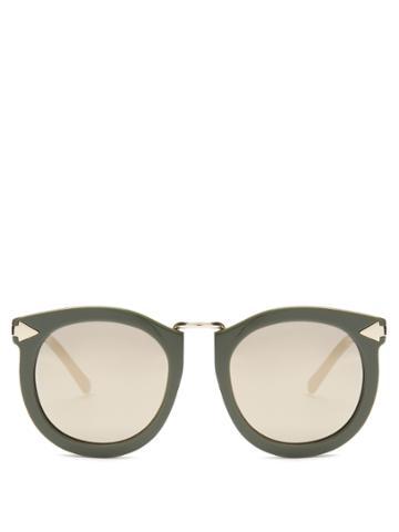 Karen Walker Eyewear Super Lunar Oversized Sunglasses