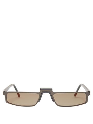 Andy Wolf Muhren Rectangle-frame Sunglasses