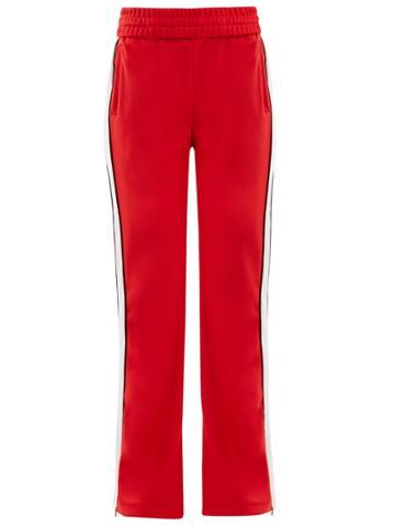 Off-white Side-stripe Straight-leg Track Pants