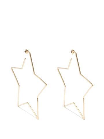 Isabel Marant - Star Hoop Earrings - Womens - Gold