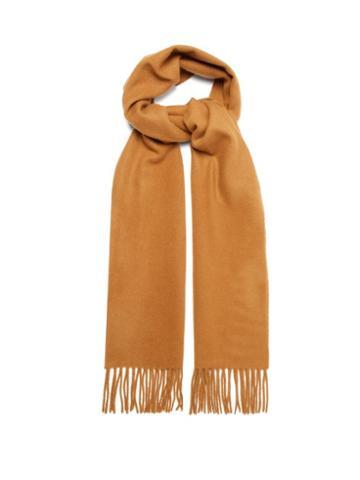 Matchesfashion.com A.p.c. - Remy Wool Blend Scarf - Mens - Camel