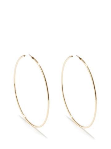 Isabel Marant - Metal Hoop Earrings - Womens - Gold