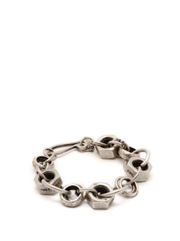 Matchesfashion.com Off-white - Hex Nut Bracelet - Mens - Silver