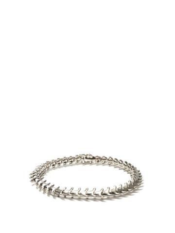 Matchesfashion.com Shaun Leane - Serpent Sterling-silver Bracelet - Mens - Silver