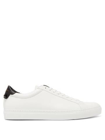 Matchesfashion.com Givenchy - Urban Street Leather Trainers - Mens - White Black