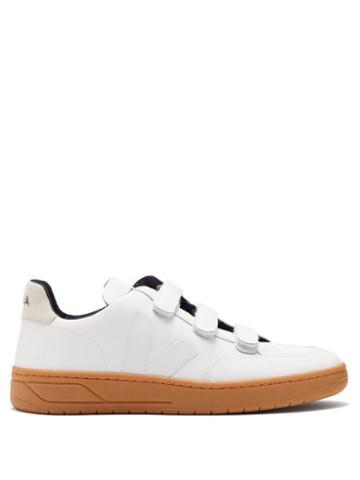 Matchesfashion.com Veja - V 12 Velcro Leather Trainers - Mens - White