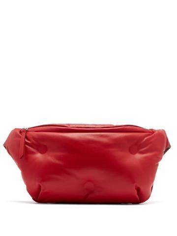 Matchesfashion.com Maison Margiela - Glam Slam Quilted Leather Belt Bag - Womens - Red