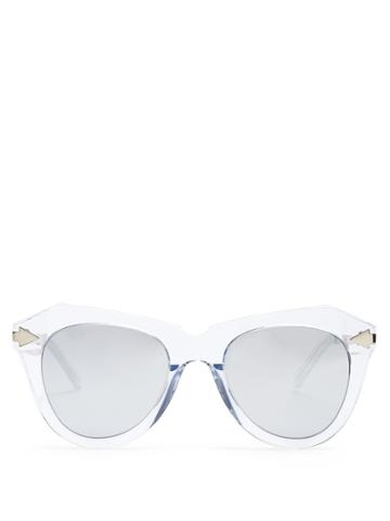 Karen Walker Eyewear One Star Cat-eye Sunglasses
