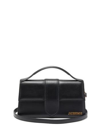 Matchesfashion.com Jacquemus - Le Grand Bambino Leather Bag - Womens - Black