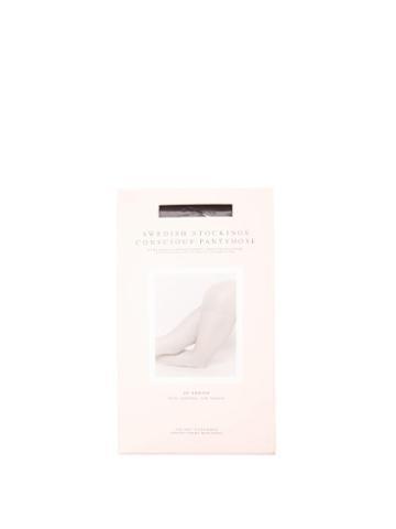 Ladies Lingerie Swedish Stockings - Moa 20-denier Control Tights - Womens - Black