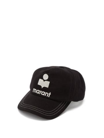 Isabel Marant - Tyronh Logo-embroidered Cotton-canvas Cap - Mens - Black