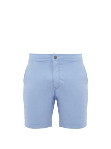 Matchesfashion.com Onia - Calder Swim Shorts - Mens - Blue